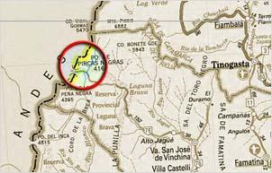 Mapa Pircas Negras